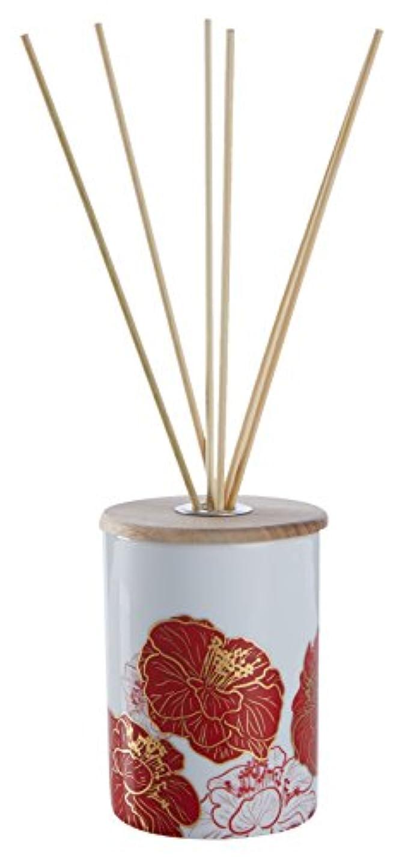 自分飾り羽気晴らしDEICA デイカコウドウ 泥花香堂 アロマフレグランスディフューザー 牡丹(リードディフューザー)