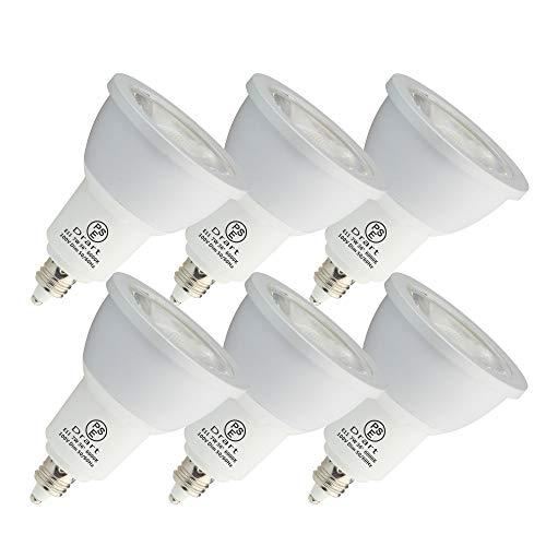 LED電球 7W E11 LED スポット 調光対応 ハロゲン電球形 65W相当 PSE認証 3年保証(6個入り) (昼光色)