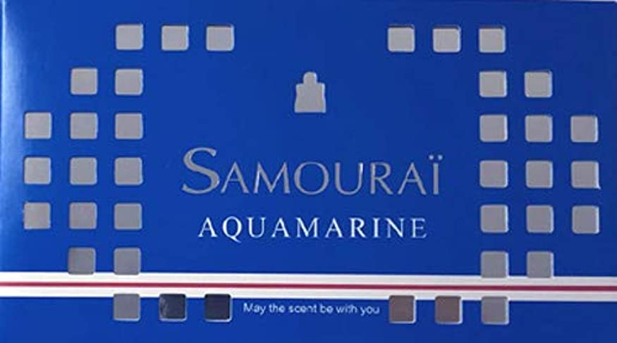 サムライ アクアマリン フレグランス ボックス アクアマリンの香り 170g