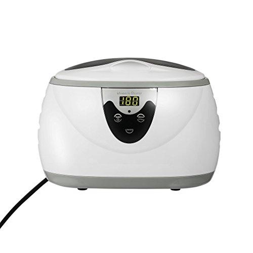 超音波洗浄機 600ml メガネ洗浄機 メガネ 宝石 指輪 腕時計 アクセサリー 入れ歯 洗浄機 殺菌消毒 洗浄器