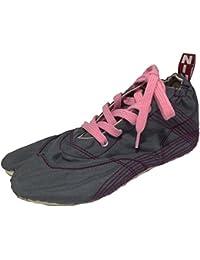 [無敵]MUTEKI 【ランニング足袋】伝統職人の匠技が創り出すランニングシューズ《グレー》