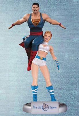 『DCコミックス』【ボムシェルズ】パワーガール&スーパーマン