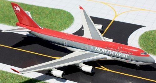 1: 400 ジェミニジェット Northwest 航空 ボーイング 747-400 Bowling Shoe Colors (並行輸入)