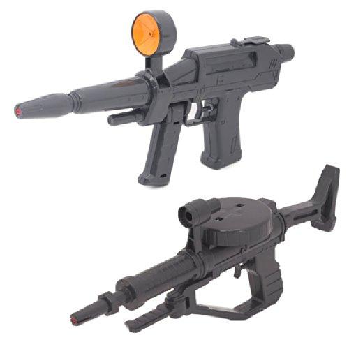 [해외]이케다 공업사 기동전 사 건담 워터 건 (빔 라이플 형 + 자쿠 머신 건 형 세트)/Ikeda Industrial Co. Mobile Suit Gundam Watergun (Beam · Rifle Type + Zaku Machine Gun Type Set)