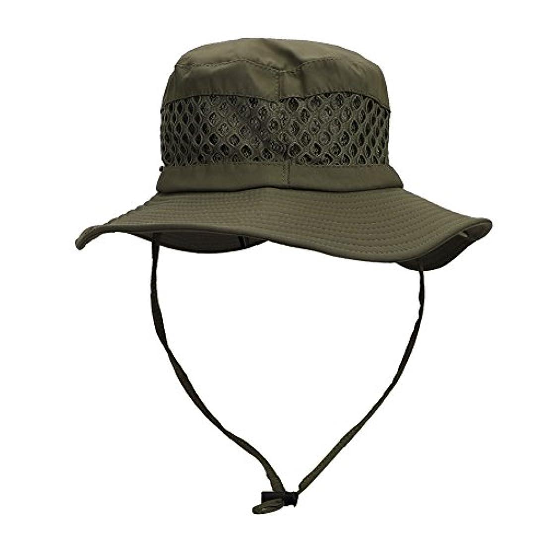 間隔ストレンジャードナーUVカット帽子 日除け帽子 サーフハット メンズ レディース 紫外線対策 日焼け防止 メッシュ 通気性がいい 漁師キャップ フィッシングハット 農作業帽子 ガーデニング 登山 アウトドア 春夏 サイズ調節可