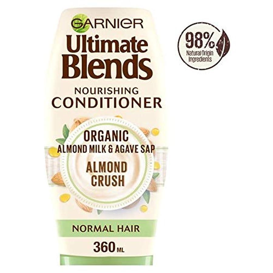 レッスン窒息させる受信機[Ultimate Blends ] ガルニエ究極は、アーモンドミルク、通常のヘアコンディショナー360ミリリットルをブレンド - Garnier Ultimate Blends Almond Milk Normal Hair...