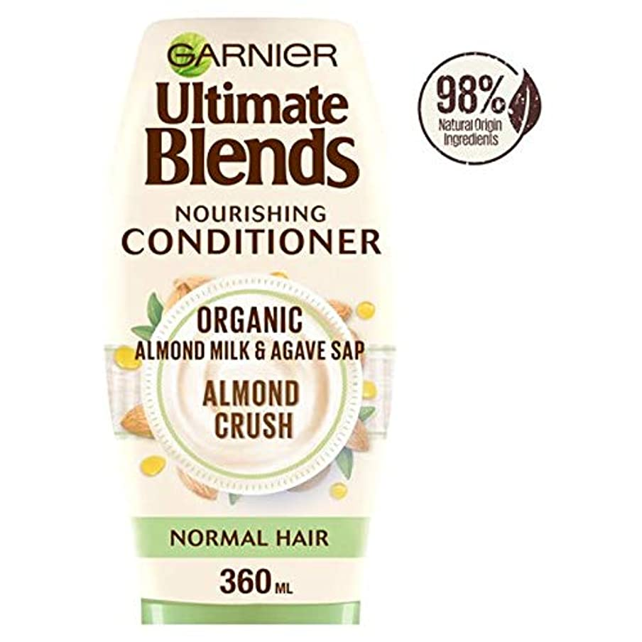 せっかちコート指導する[Ultimate Blends ] ガルニエ究極は、アーモンドミルク、通常のヘアコンディショナー360ミリリットルをブレンド - Garnier Ultimate Blends Almond Milk Normal Hair Conditioner 360Ml [並行輸入品]