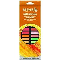 Reeves 8790275 32 Color Soft Pastel Set - Half Sticks