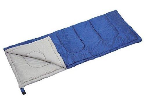 キャプテンスタッグ 寝袋 【最低使用温度15度】 封筒型シュラフ プレーリー 600 ネイビー M-...
