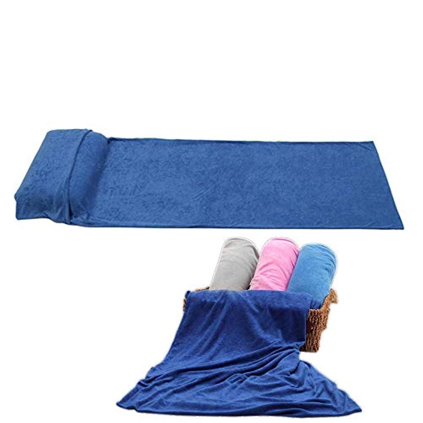 篭泳ぐ放散するROUTMAN 単層の柔らかいタオルの寝袋、ホテル旅行の寝袋、枕カバーと枕カバーなしなしで並ぶ寝袋、4色のオプションの色汚れた寝袋