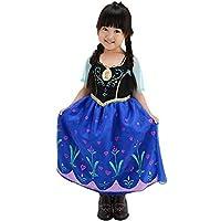ディズニー アナと雪の女王 アナ 歌が流れる! 光る!ミュージカルドレス キッズコスチューム 女の子 100cm-110cm