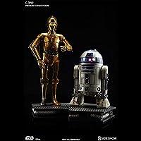 サイドショウ スター・ウォーズ C-3PO & R2-D2 プレミアムフォーマット フィギュア スタチュー セット