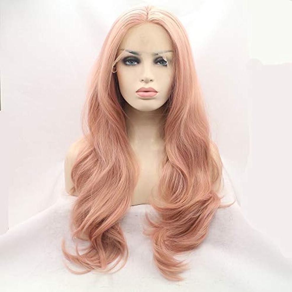 娯楽蓄積する哲学博士かつらキャップかつらで長いファンシードレスカール女性用高品質な人工毛髪コスプレ高密度かつら18インチ、20インチ、22インチ、24インチ、26インチ (Size : 22inch)
