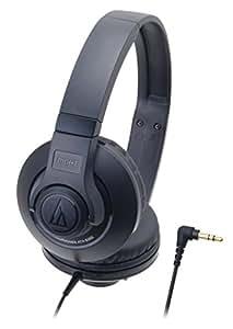 audio-technica STREET MONITORING 密閉型オンイヤーヘッドホン ポータブル ブラック ATH-S300 BK