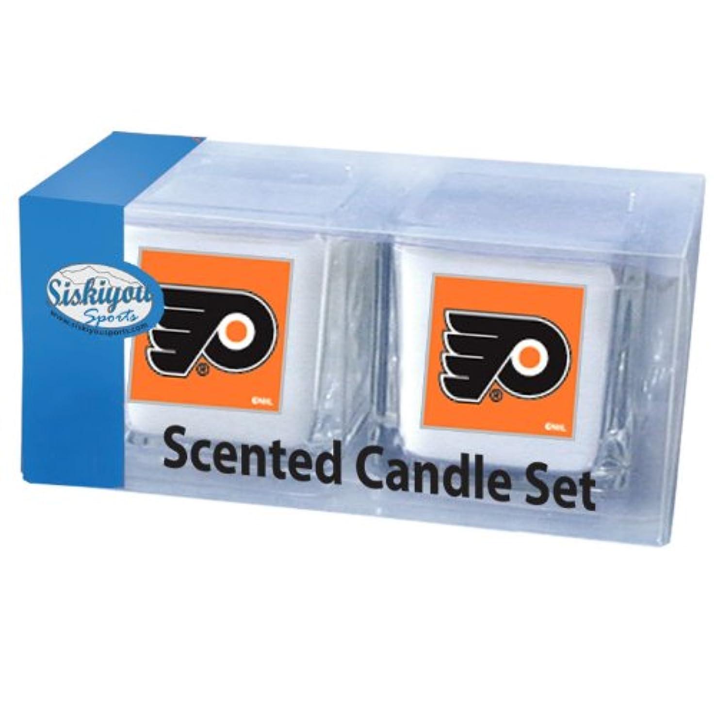 ハング不適切なフィラデルフィアNHL Scented Candle Set