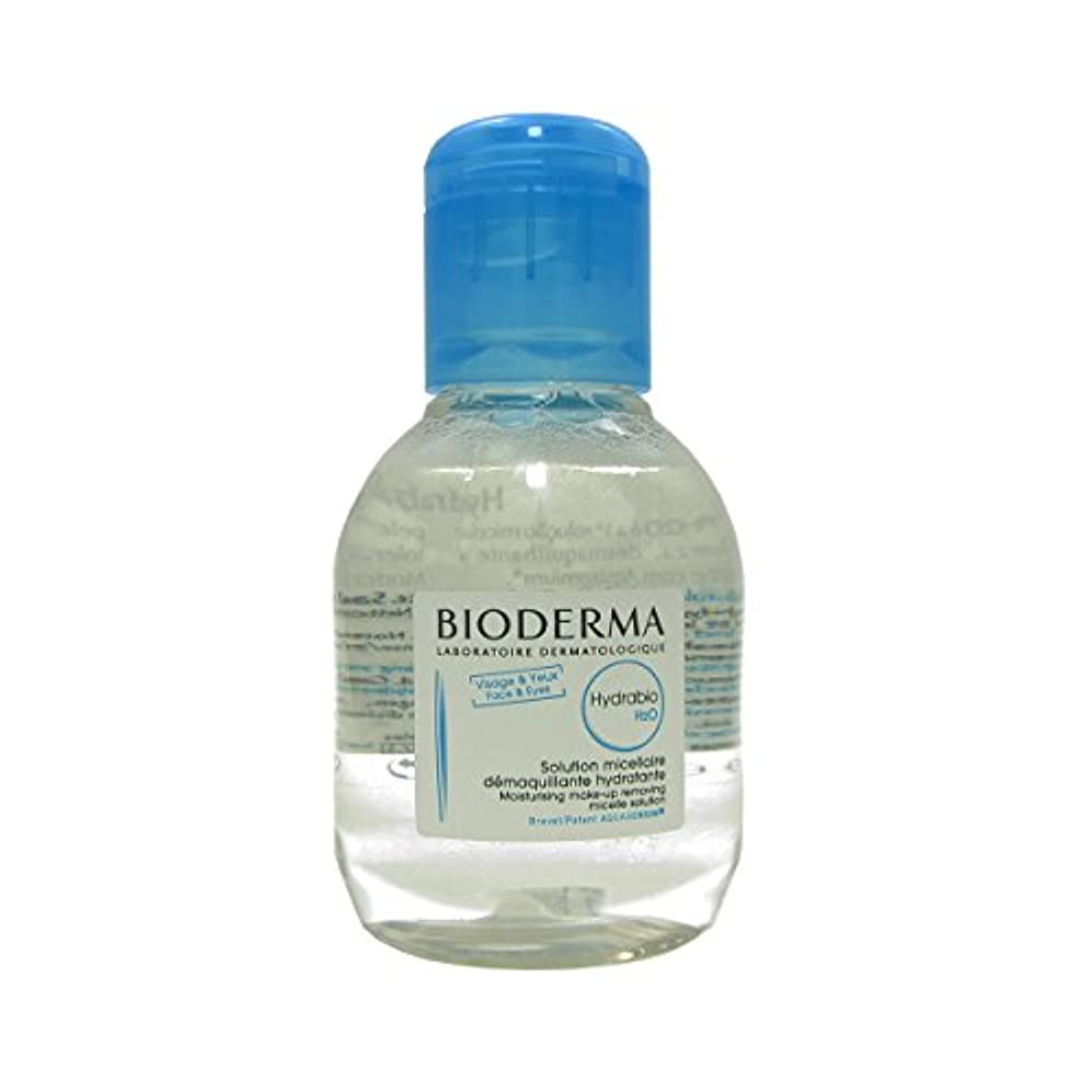 防止ラボエスカレーターBioderma - Hydrabio H2O Moisturising Make-up Removing Micelle Solution (100 ml) [並行輸入品]