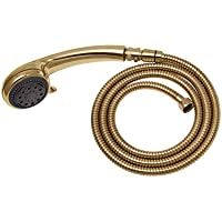 Adjustable Gold Hand Held Shower Unit