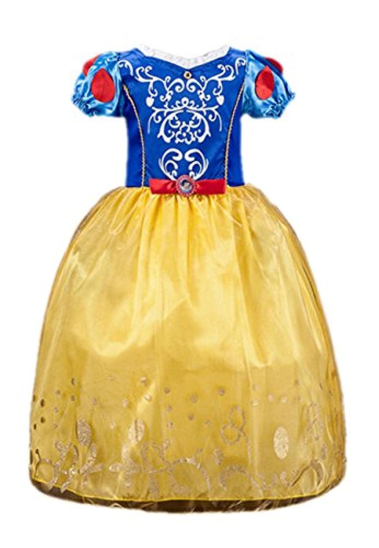 (ヴィンテージローズ)vintagerose プリンセス風 女の子 ワンピースドレス 子供用 100-150cm (120, 白雪姫)