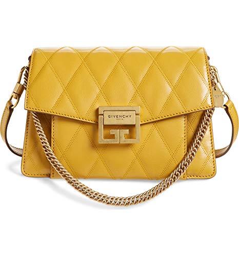 (ジバンシー) GIVENCHY レディース バッグ ハンドバッグSmall GV3 Diamond Quilted Leather Crossbody Bag (並行輸入品)