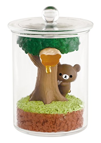 リラックマ はちみつの森のテラリウム BOX商品 1BOX = 6個入り、全6種類