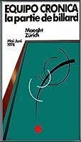 ポスター エキーポ クロニカ Zurich La Partie De Billard 額装品 アルミ製ベーシックフレーム(ブラック)