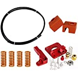 LEOWAY Creality Ender 3 Upgrade Kit Springs Extruder Sock Capricorn Clone Tube
