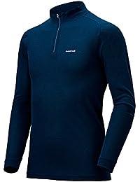 (モンベル) mont-bell ジオラインL.W.ハイネックシャツ Men's 1107488 インディゴ(IND) XL