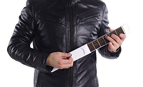Bestmaple® 持ち運び可能 ポケットギター 練習用ツール ガジェット6フレットモデル 初心者用 どこでもコードを練習することができる便利なポケットギター 初心者に最適