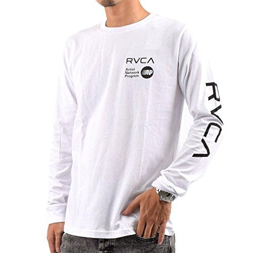 (ルーカ) RVCA メンズ長袖Tシャツ AF042-060 WHT M