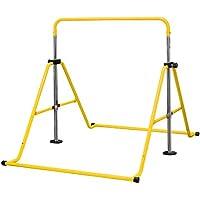 DABADA(ダバダ)折りたたみ 鉄棒 耐荷重(約)70kg 本体重量(約)9.23kg 高さ(88~129cm)4段階調節可 組立カンタン 室内・屋外使用可 子供用