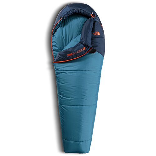 THENORTHFACE(ザ・ノースフェイス)寝袋ユースアリューシャン-7NBR41702コスミックブルー×ミッドナイトブルーレギュラー