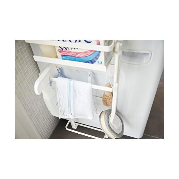 山崎実業 収納ラック 洗濯機横マグネット収納ラ...の紹介画像6