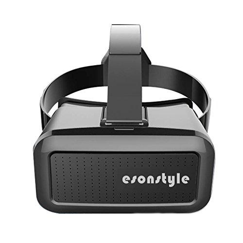 Esonstyle 3D VR メガネ 仮想現実 ゴーグル ゲーム/映画/ビデオ 臨場感 通気性 ピント調整 超3D映像効果 頭部装着 4.0-6.0インチ スマホ適用6s/6 plus/6/5s/5c/5 Samsung Galaxy s5/s6/note4/note5