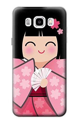 JP3042J56 雛人形 着物桜 Japan Girl Hina Doll Kimono Saku...