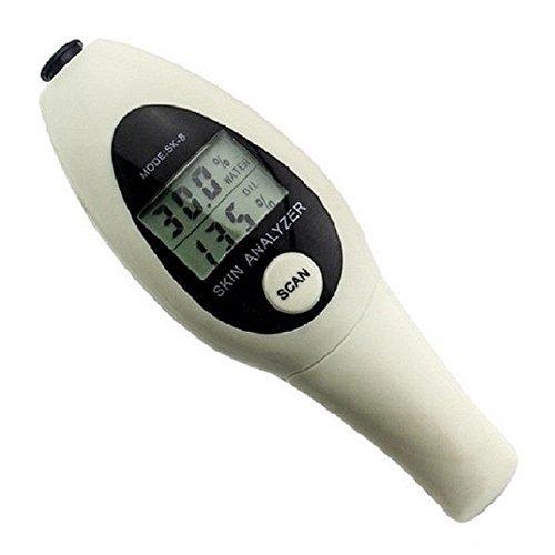 スキンケアチェッカー 肌水分量 皮脂量を測定 肌 チェッカー スキンケア 乾燥肌 脂性 TEC-SK...