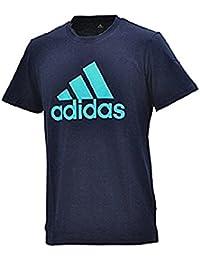 Tシャツ 半袖 メンズ アディダス adidas ESSENTIALS 半袖シャツ ロゴT トレーニング スポーツ カジュアル ウェア 丸首 ビッグロゴ 男性 トップス/EMR80