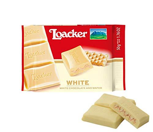 ローカー チョコレート ホワイト 50g×12 イタリアのチョコレート チョコレートウエハース 輸入菓子 輸入チョコレート 板チョコ 海外のチョコレート菓子