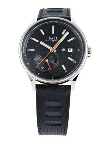 [ボールウォッチ]BALLWATCH BALL for BMW パワーリザーブ ラバーベルト ブラック文字盤 自動巻き PM3010C-PCFJ-BK メンズ 【並行輸入品】