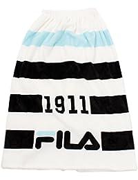 (フィラ) FILA(フィラ) FILA ボーダーふわもこ巻きタオル128401