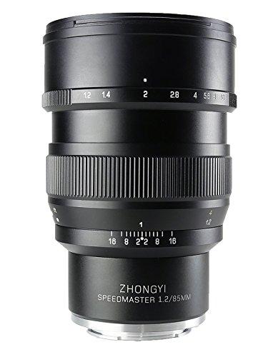 中一光学(ZHONG YI OPITCS) 単焦点レンズ SPEEDMASTER 85mm F1.2 (ソニーEマウント)