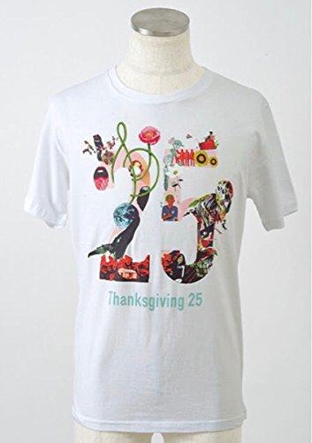 Mr. Children 2017 Thanksgiving 25 25周年 Tシャツ ホワイト Mサイズ