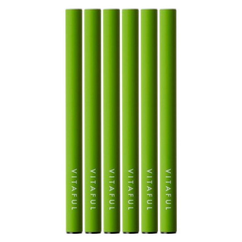 出血小川コンピューター【6本セット】VITAFUL ビタフル 電子タバコ グリーンアップル