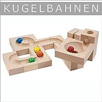<ボーネルンド> クーゲルバーン クライントリヒター カーブセット カデンカデン ボール転がし 積み木 立体パズル ブロック遊び