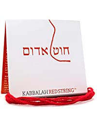 The ORIGINAL Kabbalah String from Israel RED STRING Kabbalah Bracelet Pack - 60 Inch Red String for up to SEVEN Evil Eye Protection Bracelets - Prayer Blessing & Instructions Included!