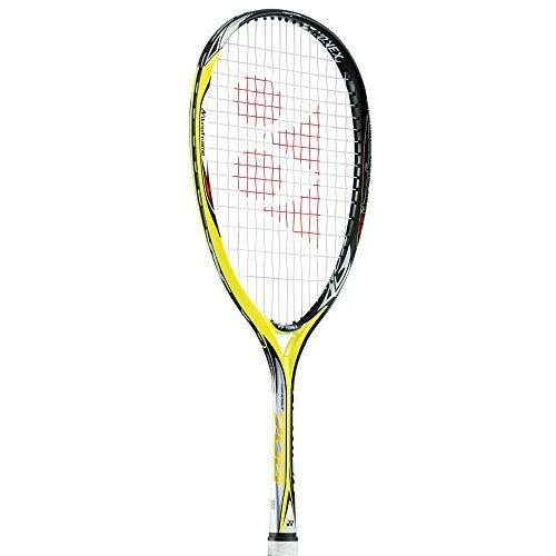 ヨネックス(YONEX) ネクシーガ70G+サービスガット NXG70G440シトラスイエロー+DK003 ソフトテニスラケット 軟式テニスラケット 後衛向け 2016年3月上旬発売