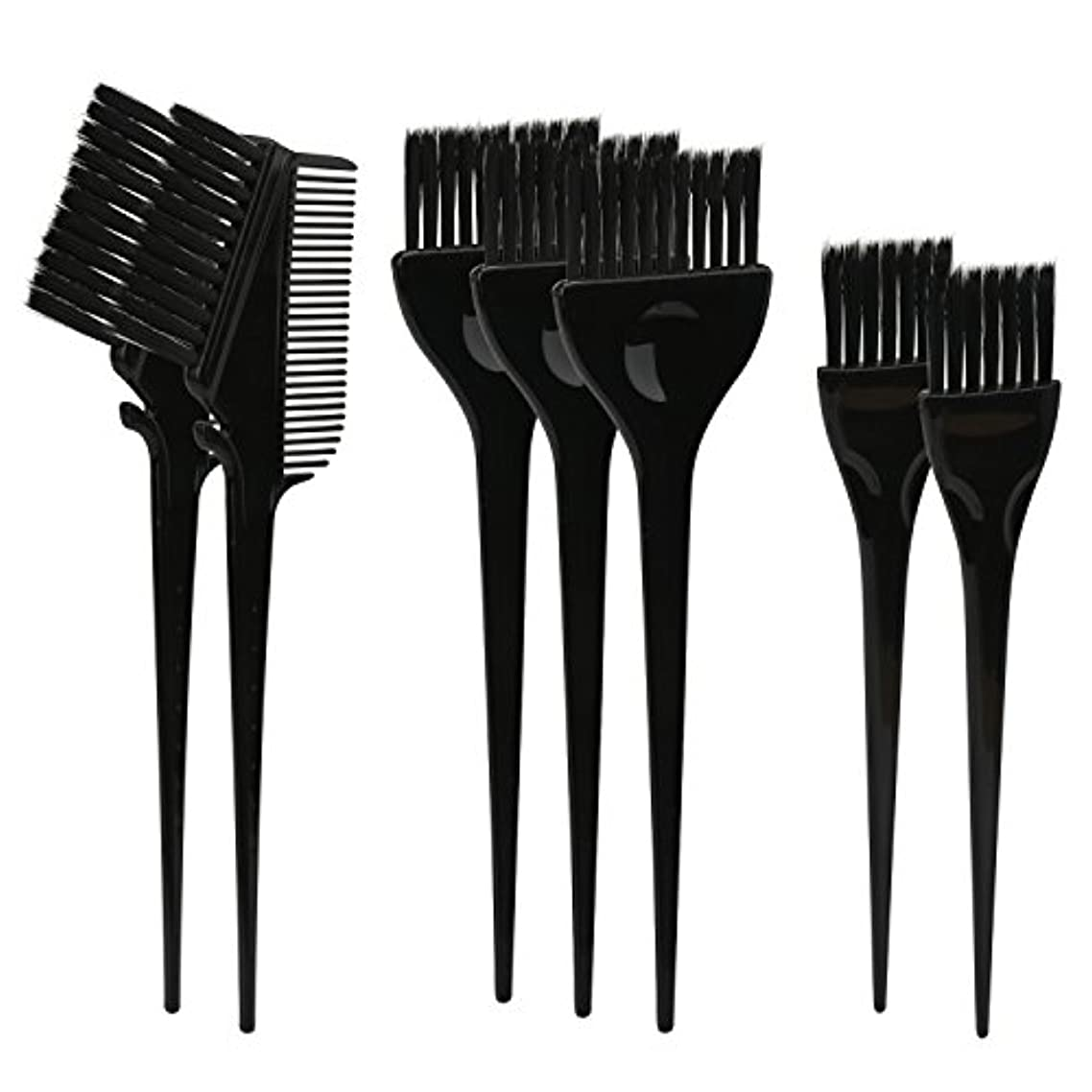 トライアスロン胴体除去Segbeauty ヘアカラー DIY プロ髪染め用のブラシ 7pcs 美髪師用 サロン工具セット