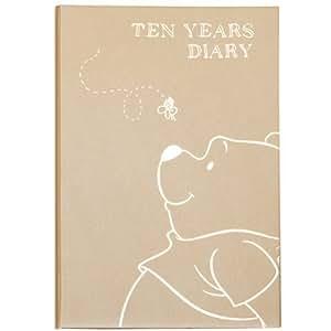 ディアカーズ 10年日記 プーさん(ディズニー) 名入れなし【連用日記】 1208-G03-010