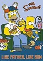 Simpsons - Like Farther Like Son Poster - 91.5x61cm