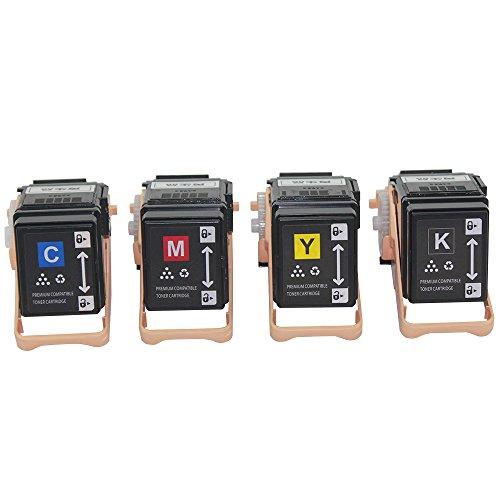 Caire(TM) エプソン リサイクルトナー カラー 3700ページ ブラック4100ページ LPC3T35 4色セット EPSON LP-S6160対応