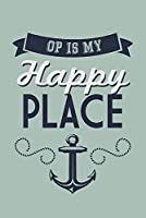 海洋公園、メイン州–Op Is My Happy Place 12 x 18 Art Print LANT-54146-12x18